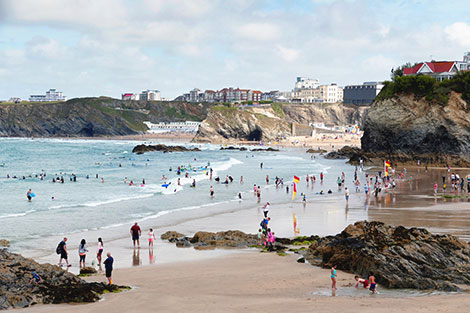 Beaches of Newquay Cornwall