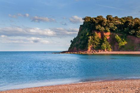 Ness Devon Beach