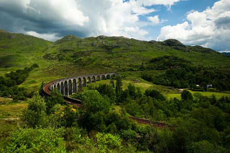 Hogwarts Express Bridge Scotland