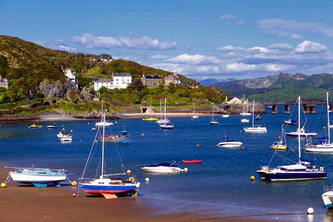 Barmouth Coastline Wales