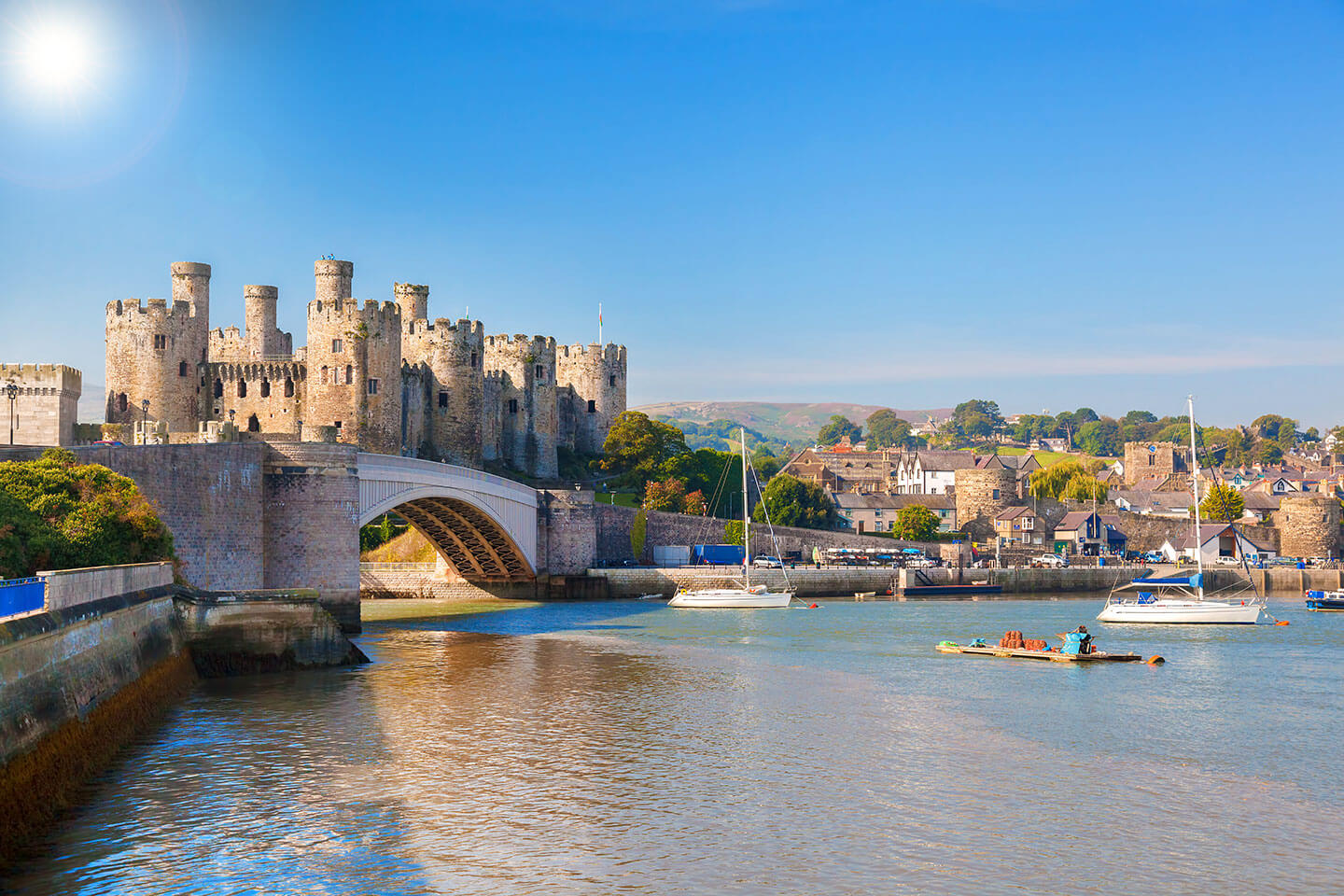 Conwy Castle Wales Cottage Holidays