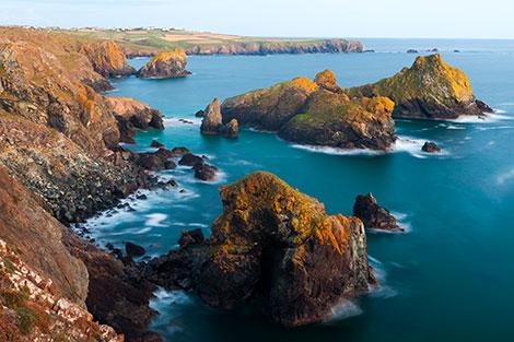 Cornwall Lizard and Cliffs